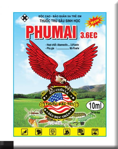 PHUMAI 3.6 EC 10ML ( Đại bàng Đỏ)