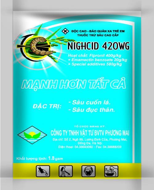 NIGHCID 420WG 1.8G (Mới)