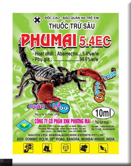PHUMAI 5.4 EC 10ML ( Bọ cạp)